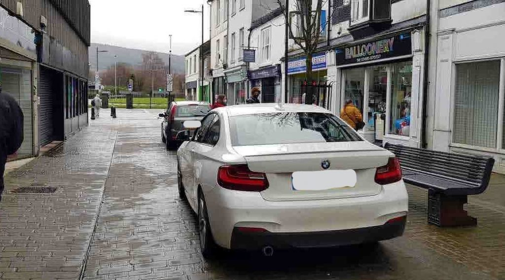 Our Aberdare business improvement district BID footfall customers projects TRAFFIC ISSUES FREE PARKING COMMERCIAL STREET